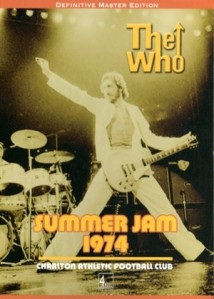 The Who: Charlton, London DVD (May 1974)