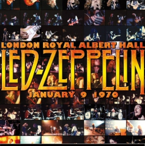 Led Zeppelin London Royal Albert Hall January 9, 1970