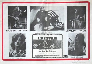 Led Zeppelin Concert Review: Maple Leaf Gardens, Toronto, September 1971