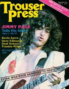 Jimmy Page Interview With Dave Schulps (1977)