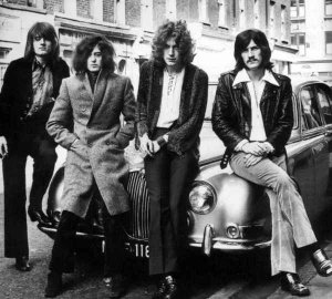 Led Zeppelin Are Not Prefabricated (1969)