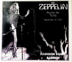 Led Zeppelin Concert Memories: Madison Square Garden 19th September 1970