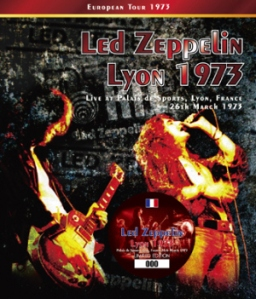 Led Zeppelin Lyon 1973 (March 1973)