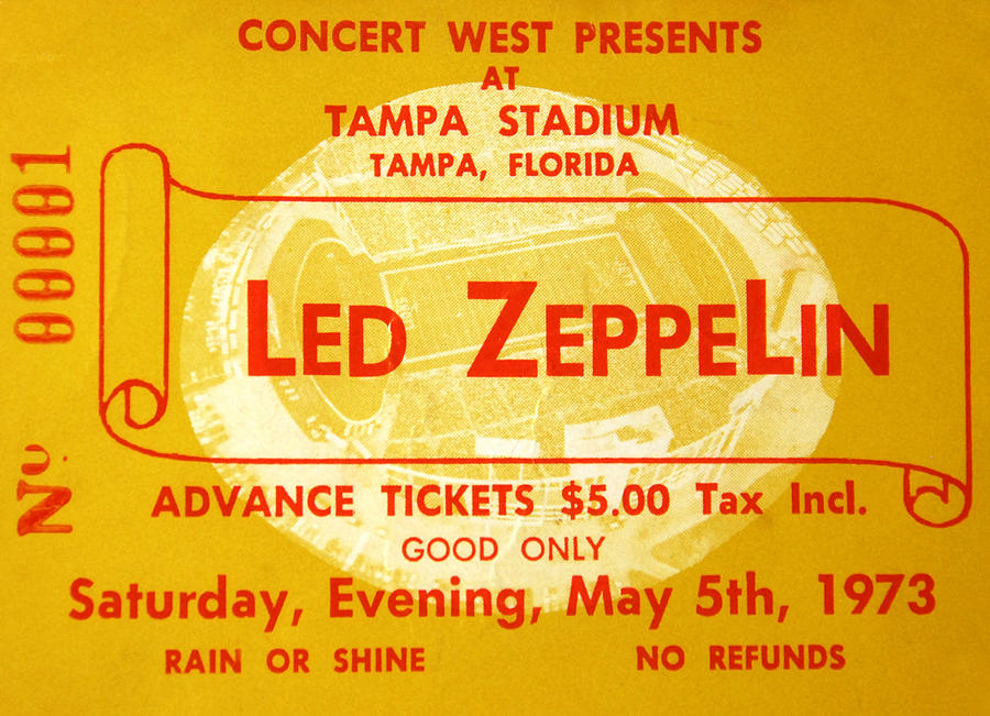 led zeppelin tickets classic rock review. Black Bedroom Furniture Sets. Home Design Ideas