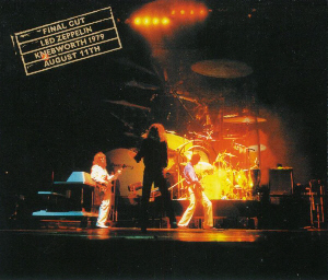 Led Zep Hot Dog Live
