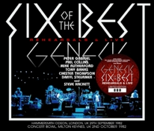 Genesis Six Of The Best: Rehearsals & Live (Hammersmith, September 1982 & Milton Keynes, October 1982)