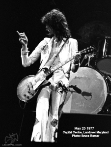 Led Zeppelin Concert Memories: Capital Centre, Landover, Maryland, May 25th 1977