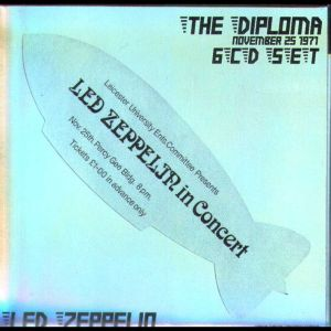 Led Zeppelin The Diploma (Leicester UK, November 1971)
