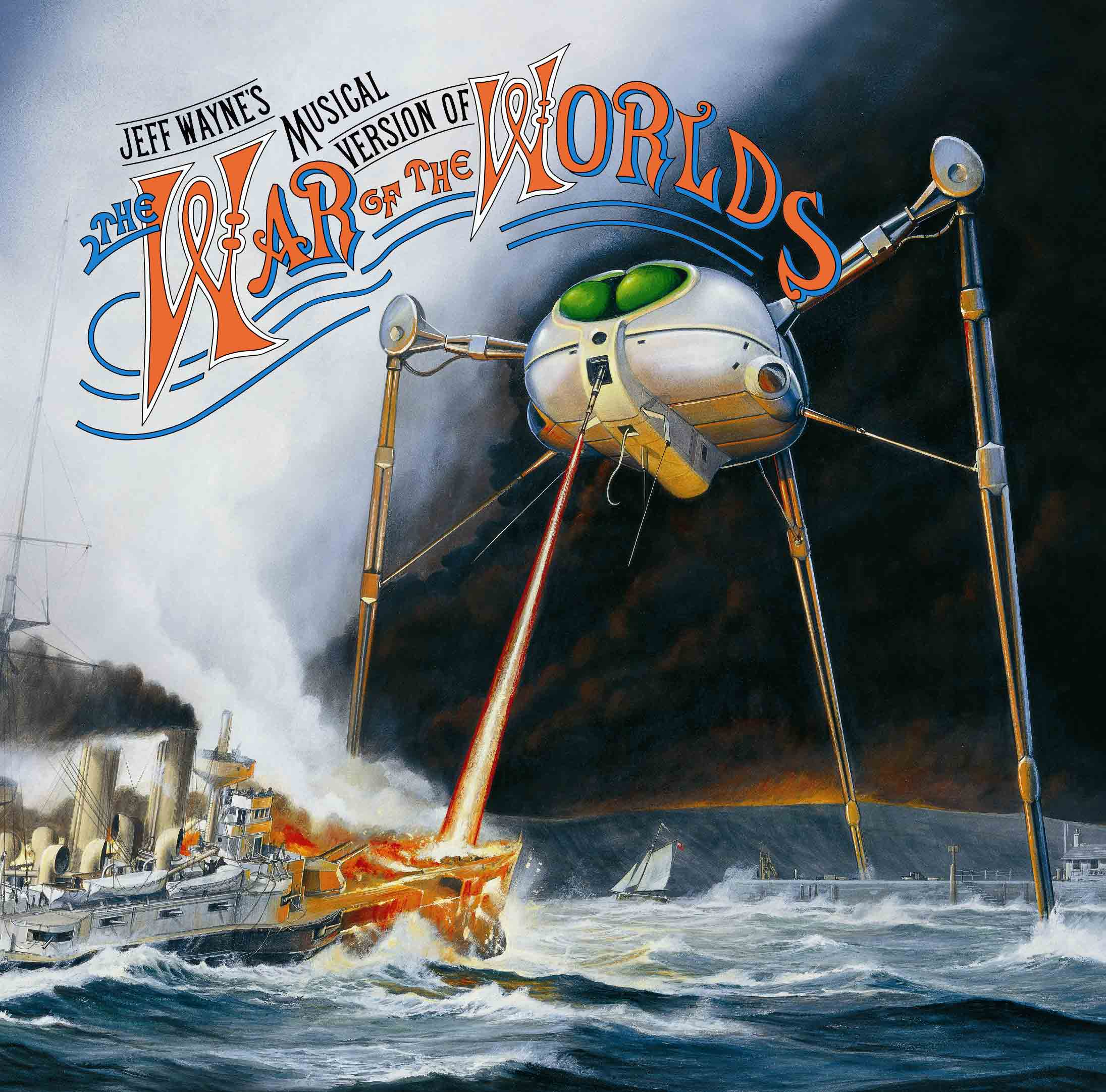 Jeff Wayne War Of The Worlds 30th Anniversary Edition