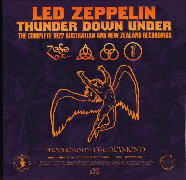 Led Zeppelin Thunder Down Under « Classic Rock Review