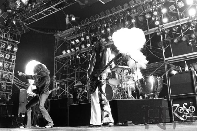 led zeppelin concert memories largo md may 30th 1977 classic rock review. Black Bedroom Furniture Sets. Home Design Ideas